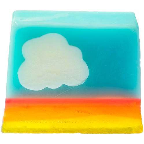 Bomb cosmetics mrs bluesky soap slice