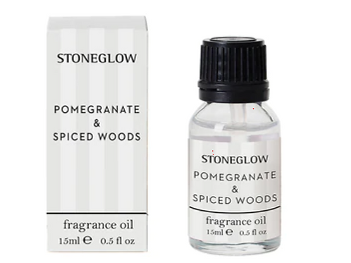 Stoneglow Modern Classics Pomegranate & Spiced Woods Diffuser Oil