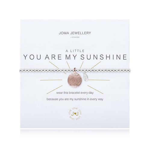 Joma Jewellery 'you are my sunshine' bracelet