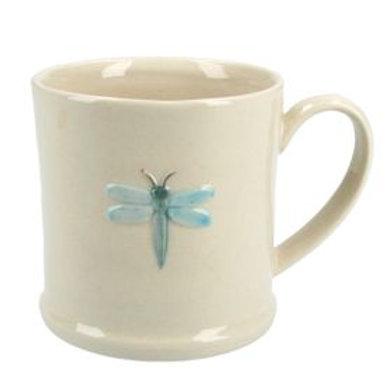 Gisela Graham Dragonfly White Mug