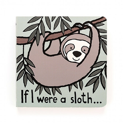 Jellycat 'if i were a sloth' book