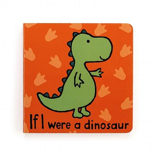 Jellycat 'if i were a dinosaur' board book