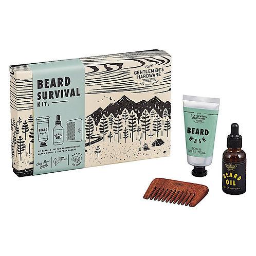 Gentleman's Hardware 'Beard Survival' kit