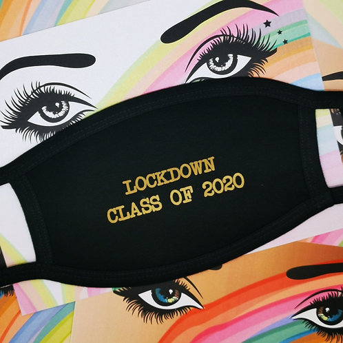 """Five Dollar Shake """"Lockdown Class of 2020"""" Face Covering"""