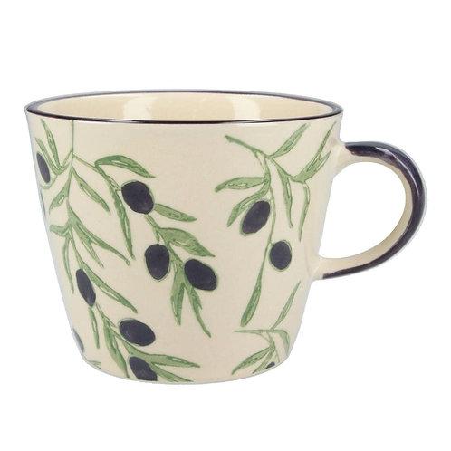 Gisela Graham Olive Branch Ceramic Mug