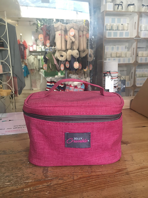 Jelly crumble pink washbag