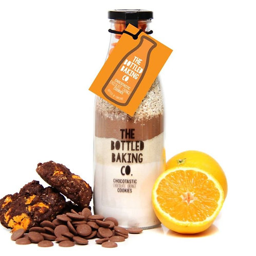 The bottled baking co. Chocotastic Chocolate Orange Cookies