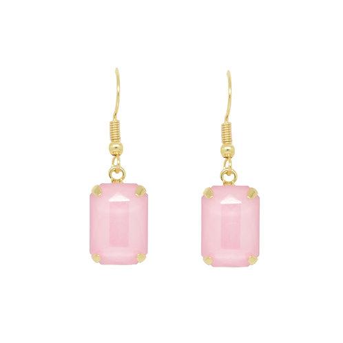 Last true angel pastel pink hanging earring