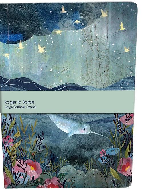 Roger la borde dreamland A4 large softback notebook
