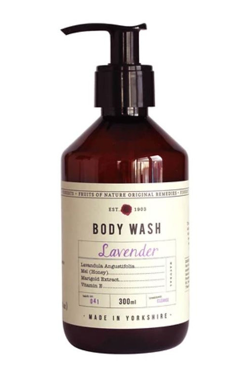Fikkerts fruit of nature lavender body wash