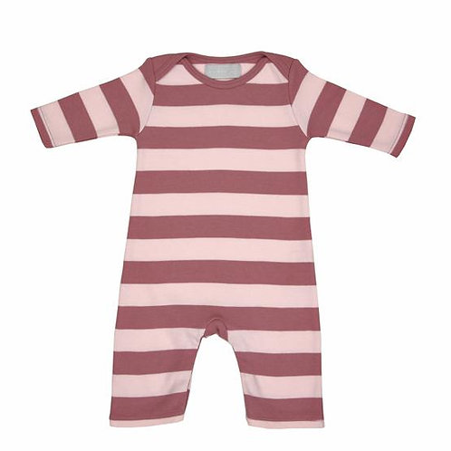Bob and blossom All-in-One Stripe Vintage Powder Pink