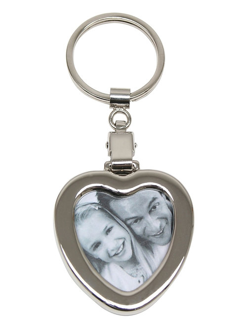 Eeknudt keyring mini heart photo frame