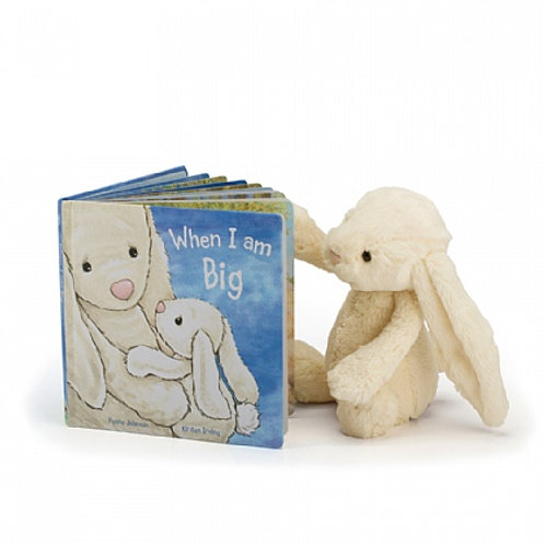 Jellycat When I am Big Picture + Bashful Bunny