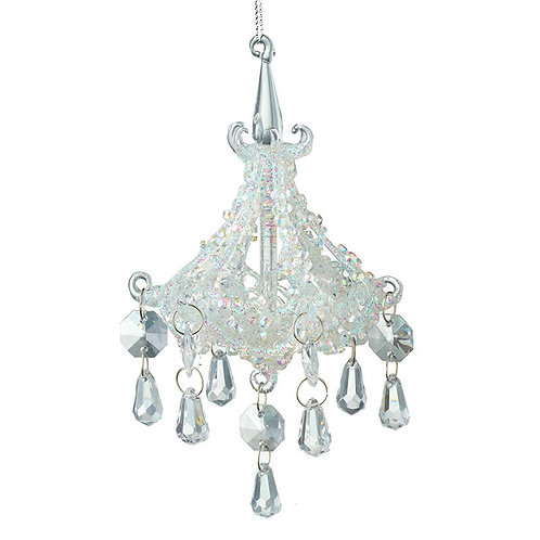 Heaven Sends Clear Chandelier Christmas Decoration (sold as single)