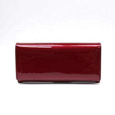 Pom red women's wallet