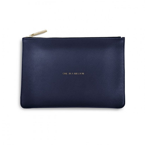 Katie Loxton Quote Pouch 'one in a million'