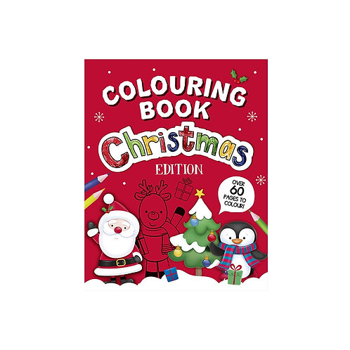 Childrens Colouring Book Christmas Edition