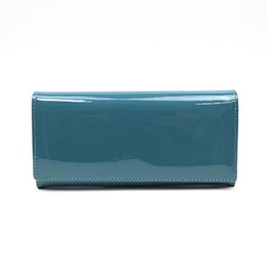 Pom blue women's wallet