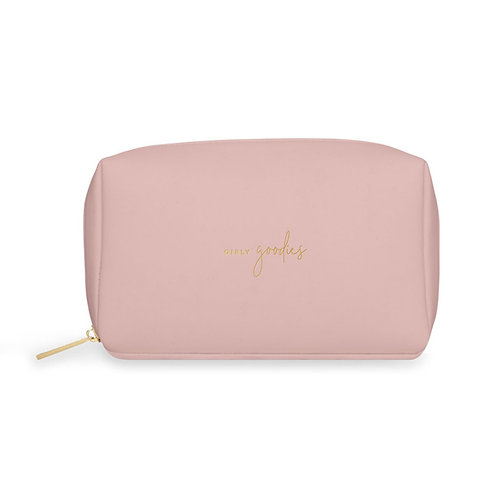 Katie loxton 'girly goodies' colour pop washbag in pink