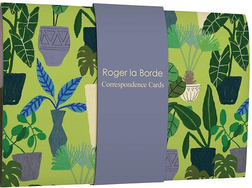 Roger la borde Anne Bentley correspondence cards