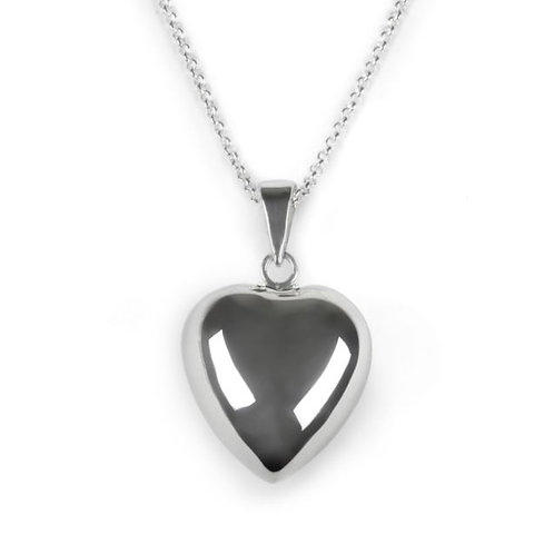 Tales from the earth chiming heart necklace