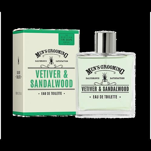 Men's Grooming Vetiver & Sandalwood Eau de toilette