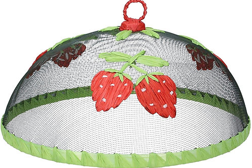 Gisela Graham strawberry food cover