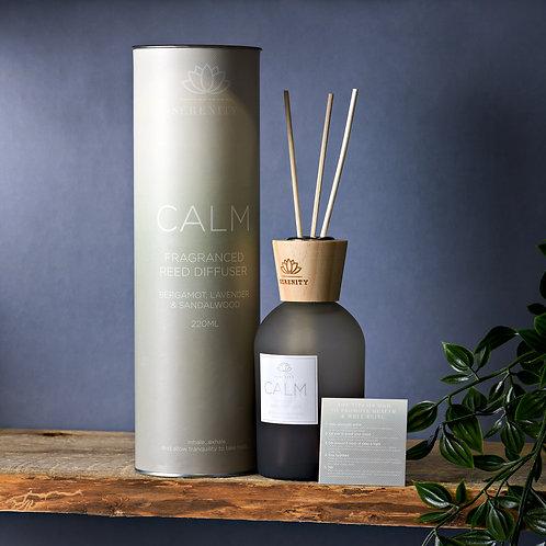 Serenity calm diffuser, bergamot, lavendar and sandalwood 220ml