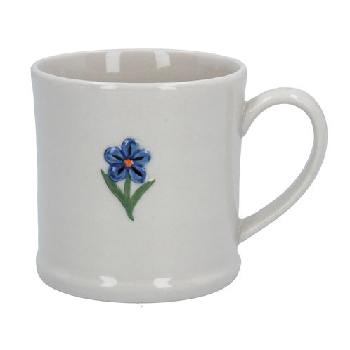 Gisela Graham mini ceramic forget-me-not mug