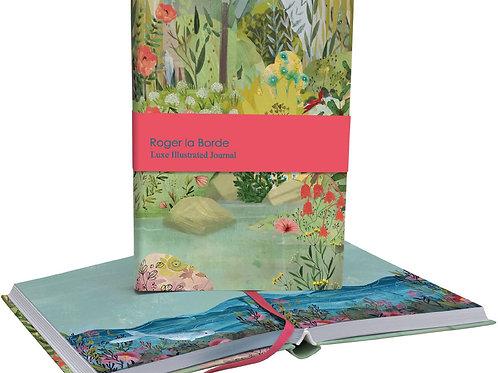 Roger la borde dreamland small softback notebook