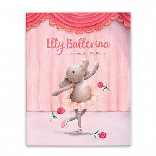 Jellycat 'Elly Ballerina' book