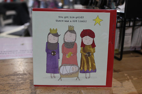 Rosie Made a Thing 3 Wise Men Christmas Card