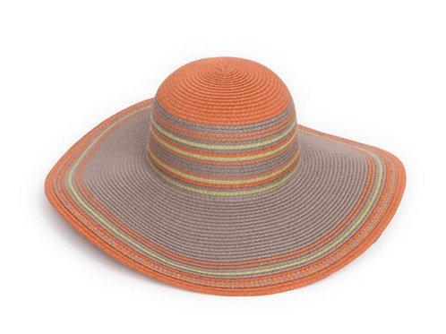 Powder allegra hat in satsuma