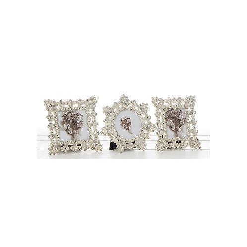 Shudehill silver sparkle mini photo frame