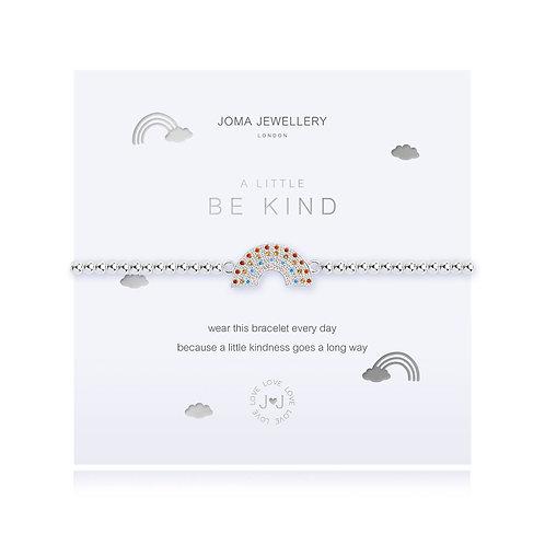 Joma Jewellery 'a little be kind' silver plated bracelet