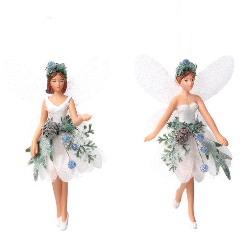 Gisela Graham Young Fairy Ballerina Christmas Decoration
