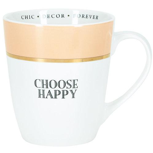 Miss Etoile 'choose happy' mug