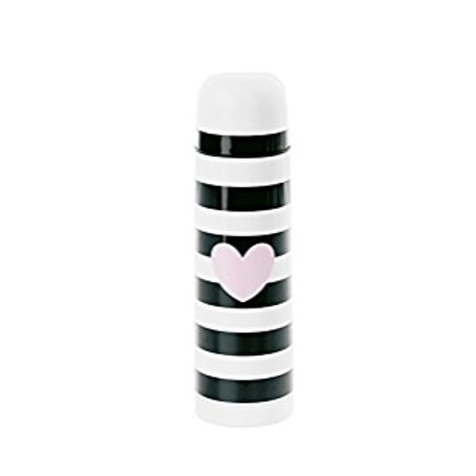 Miss Etoile heart and striped thermos
