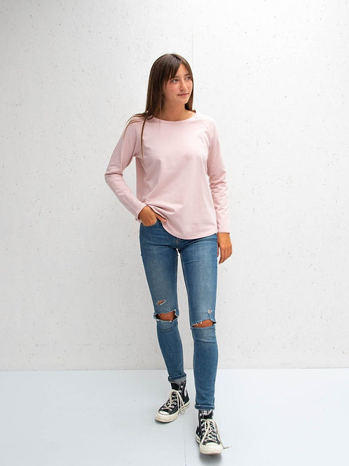 Chalk pink tasha top 'weekend' script