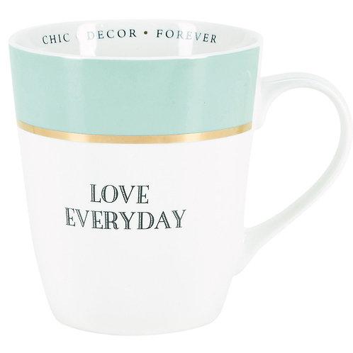 Miss Etoile 'love everyday' mug