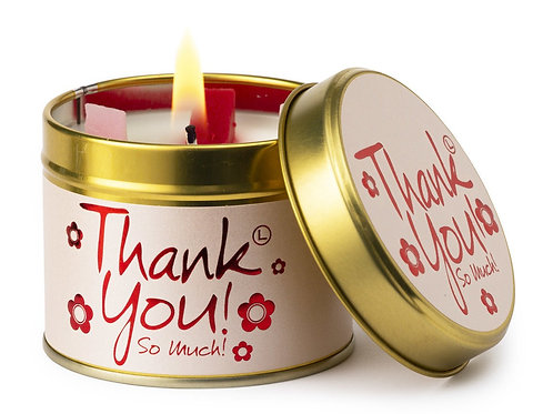 Lily Flame 'Thankyou!' Scented Candle Tin