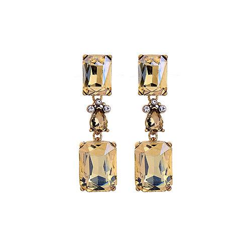 Last true angel gold three part earring