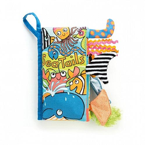 Jellycat sea tails squishy book