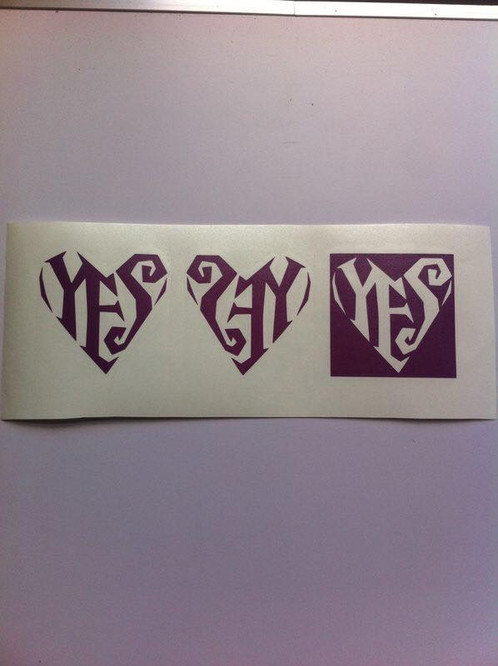 Prince Yes Logo Form The Lovesexy Era