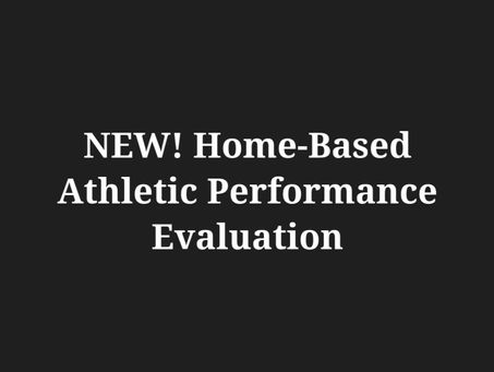 New Remote Athletic Performance Evaluation Program