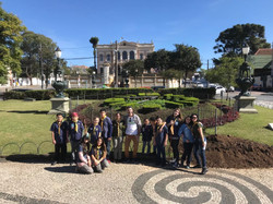 Grupo Escoteiro Brasileiro Árabe no Curitiba Free Walking