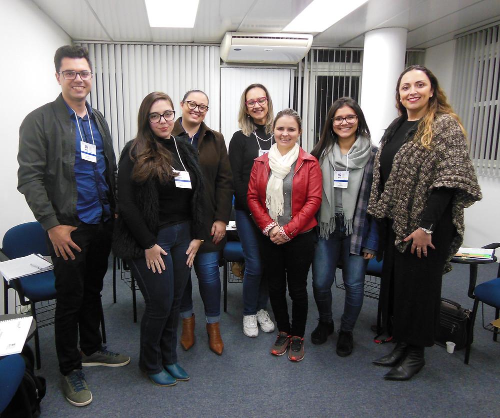 Endomarketing na ACI de Novo Hamburgo com a Instrutora Endinara da Feedback em Caxias do Sul/RS