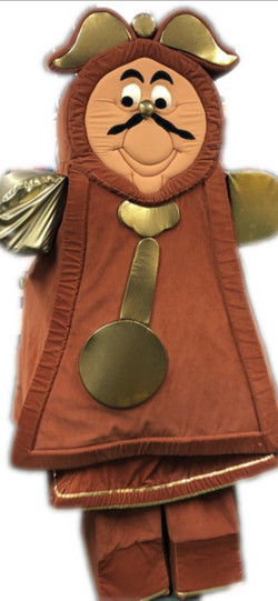 Magical Clock Mascot