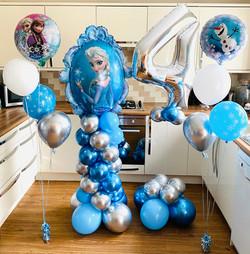 Frozen Balloon Display