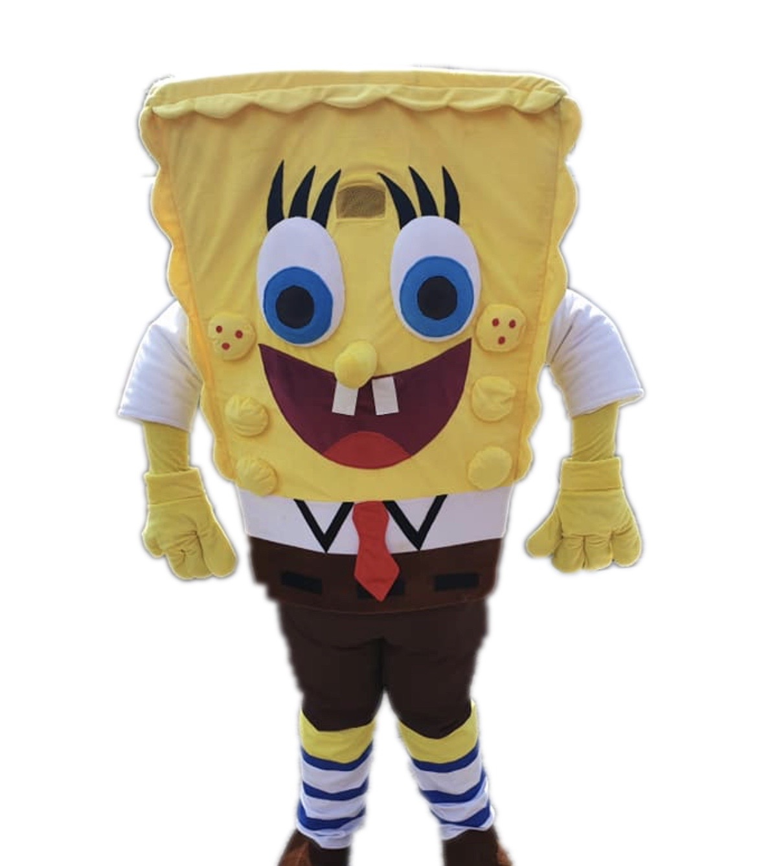 Sponge Man Mascot